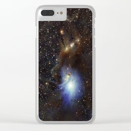 Young Star, Reflection Nebula IC 2631 Clear iPhone Case