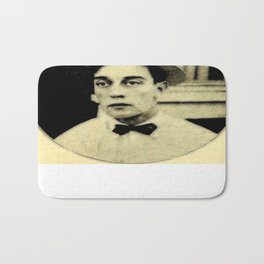 Buster Keaton Bath Mat