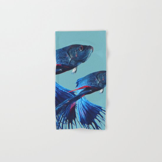 Betta Fish Hand & Bath Towel