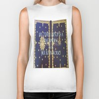 laptop Biker Tanks featuring Laptop by Jrr Bookworks