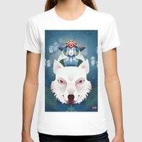 princess mononoke T-shirts featuring Princess Mononoke by Roberta Oriano