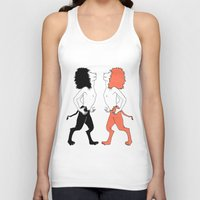 lions Tank Tops featuring Lions by Gonacas