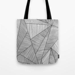 Triangel Lines Tote Bag