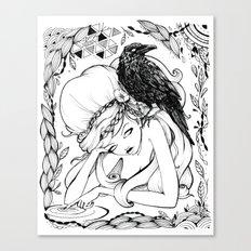 Persistence Canvas Print