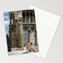 Tower of Pisa vintage Stationery Cards