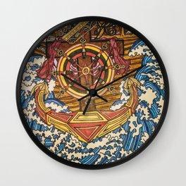 THE ARK'S ANCHOR Wall Clock