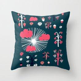 september dark Throw Pillow