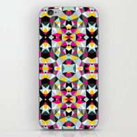 comic book iPhone & iPod Skins featuring Comic Book Tribal by Beth Thompson