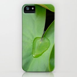 lily pad III iPhone Case