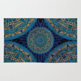 Ornament Pattern Mandala Rug