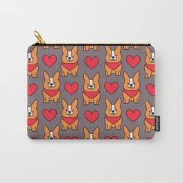 Cute corgi dog Carry-All Pouch