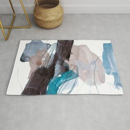 abstract painting VIII Rug