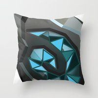 warcraft Throw Pillows featuring Home is where the hearth is. by pixel.pwn | AK
