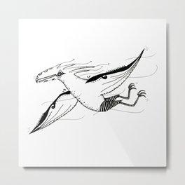 Ptero Metal Print