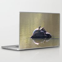 turtles Laptop & iPad Skins featuring Turtles by Bella Lilly Photography