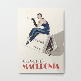 Glory to Yugoslavian design by Cardula Metal Print