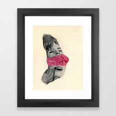 Eye Scream Framed Art Print
