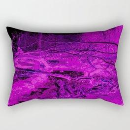 Pink Forest River Rectangular Pillow