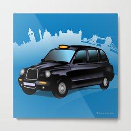 Taxi! Metal Print