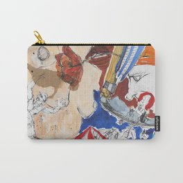 Side-Splitting Carry-All Pouch
