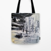 singapore Tote Bags featuring Singapore I by Kasia Pawlak