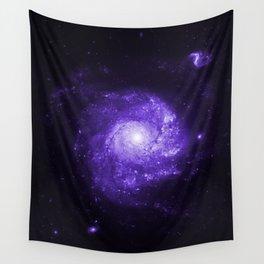 Pinwheel Galaxy Ultraviolet Wall Tapestry