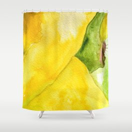 Flor de Cactus Shower Curtain