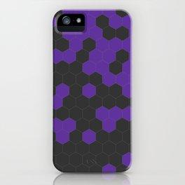 Hex Purple iPhone Case