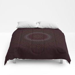 Abstract Zen Mandala Comforters