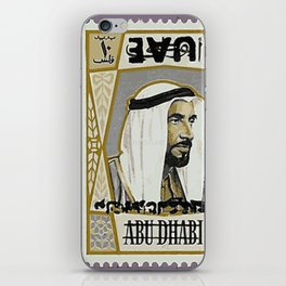 Sheikh Zayed - UAE Old Stamp iPhone Skin