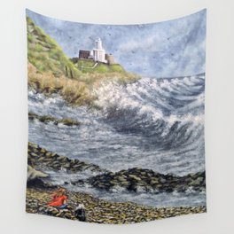 Mumbles Point Wall Tapestry