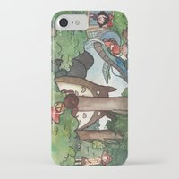 studio ghibli iPhone & iPod Cases featuring Studio Ghibli Crossover by malipi