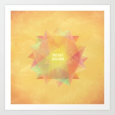 Dreams in bloom Art Print