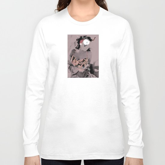 Fleisches Lust 9 - meat Collage Long Sleeve T-shirt