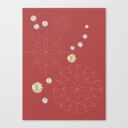Diamonds for you Canvas Print