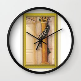 Roman Column Wall Clock