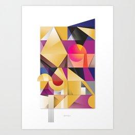 Zotz (Bat) Art Print