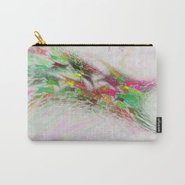 Flowering Graffiti Abstract Art Carry-All Pouch