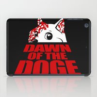 doge iPad Cases featuring Dawn of the Doge by Tabner's