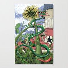 Dragons Unseen  Canvas Print