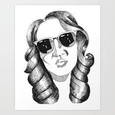 audrey gardrel Art Print