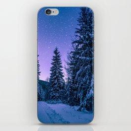 Winter-Snow-Trees iPhone Skin