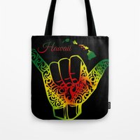 hawaii Tote Bags featuring Hawaii by Lonica Photography & Poly Designs