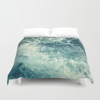 ryan gosling Duvet Covers featuring Water I by Dctr. Lukas Brezak