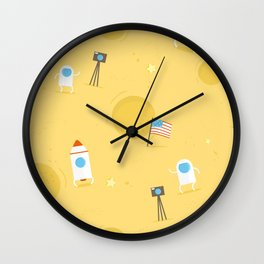 Mission to Moon Wall Clock