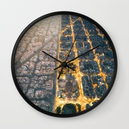 Light & Dark Wall Clock