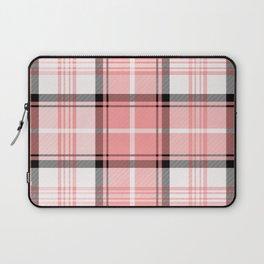 Pink Tartan Laptop Sleeve