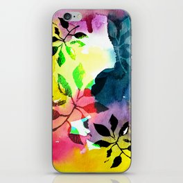 Botanical Abstract 1 iPhone Skin