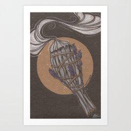 Smudge Stick Art Print