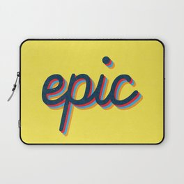 Epic - yellow version Laptop Sleeve